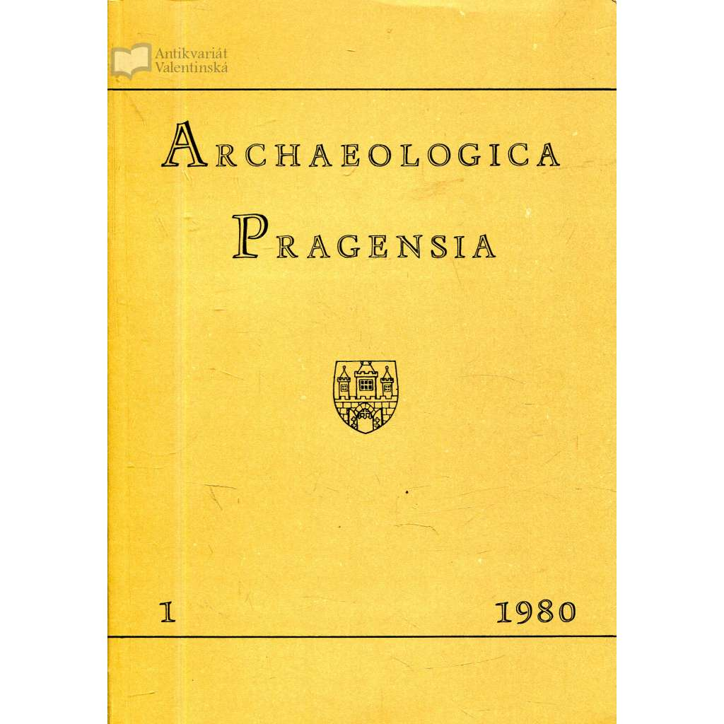 Archaeologica Pragensia 1/1980