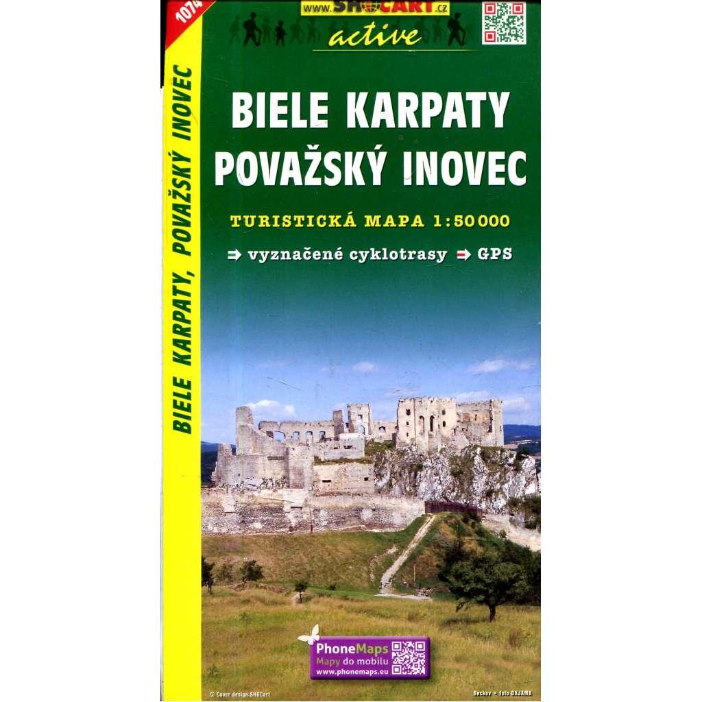 Turistická mapa : Biele Karpaty, Považský Inovec
