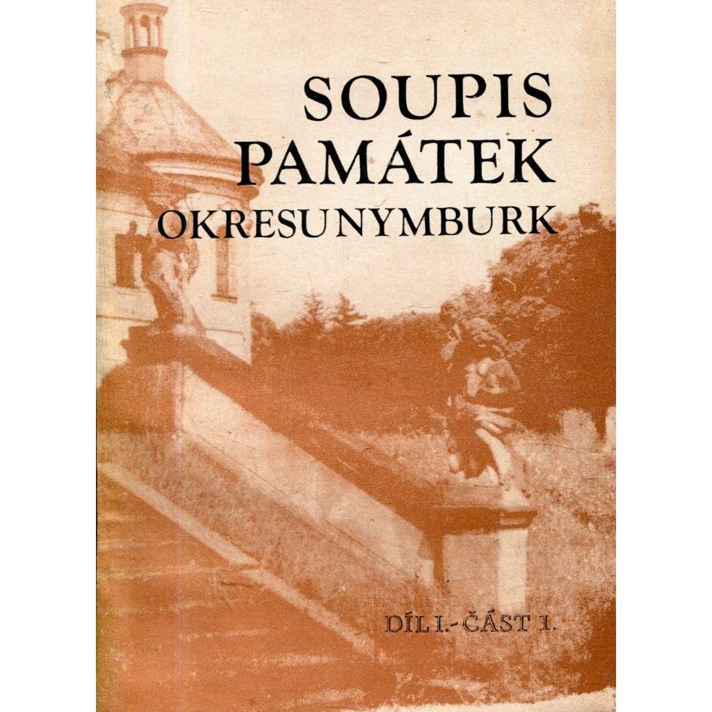Soupis památek  okresu Nymburk, díl I. - část 1.