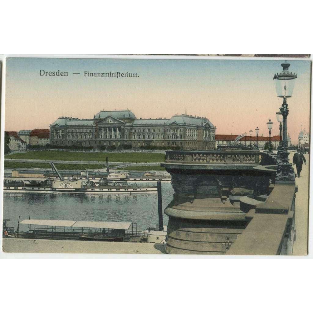Dresden, Drážďany, Německo, parník Dresden