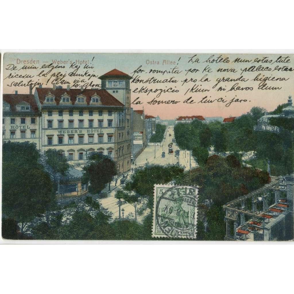 Dresden, Drážďany, Německo, Deutschland Germany, tramvaj