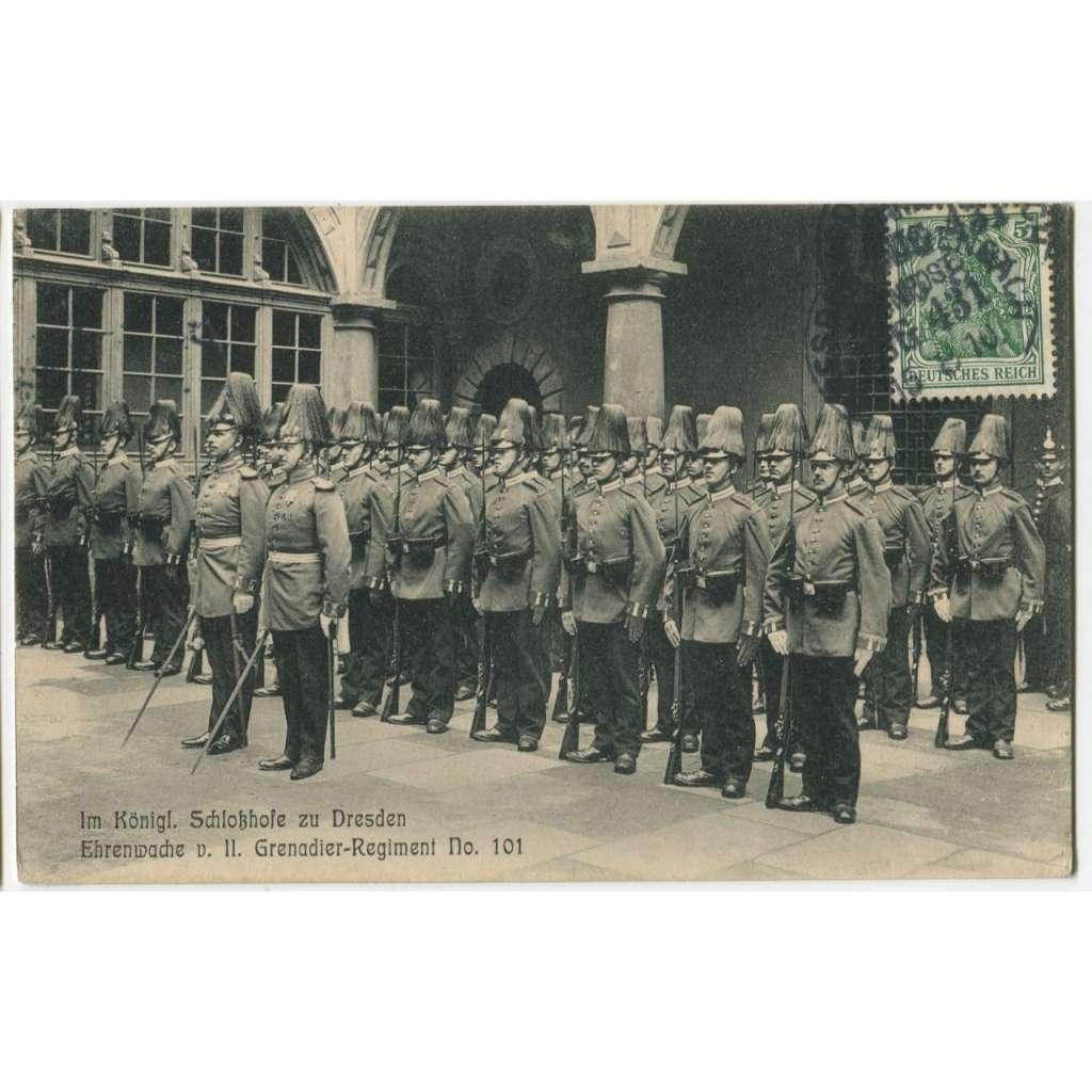 Dresden, Drážďany, vojáci, Německo, Deutschland Germany