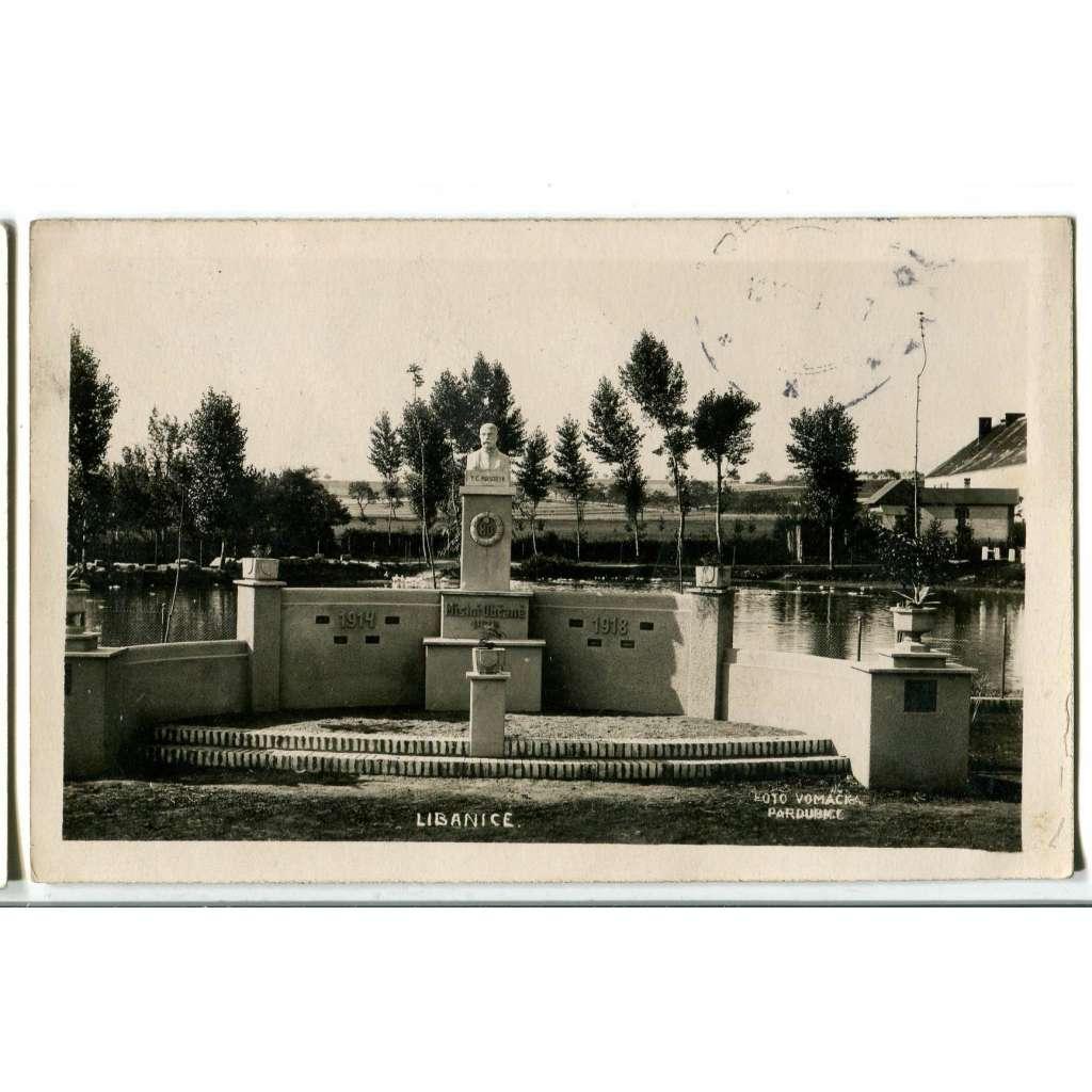 Libanice Honbice, pomník, Chrudim