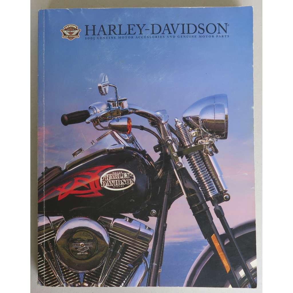 Harley-Davidson 2005 genuine motor accessories and genuine motor parts. Catalogue