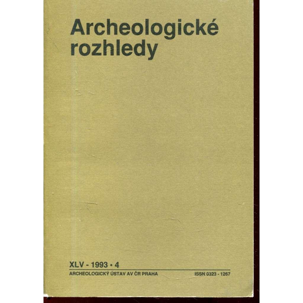 Archeologické rozhledy XLV - 1993, č. 4.