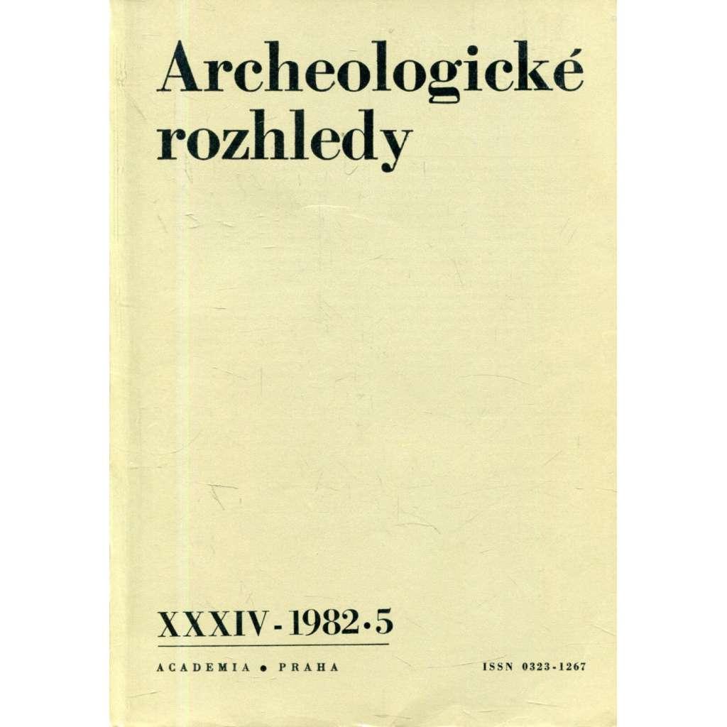 Archeologické rozhledy XXXIV - 1982, č. 5.