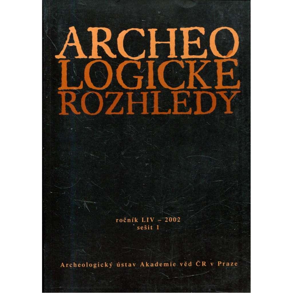 Archeologické rozhledy, roč. LIV - 2002, sešit 1