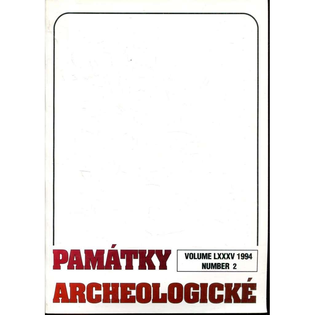 Památky archeologické 1994/2