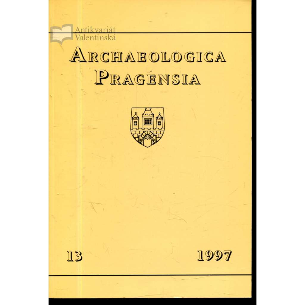 Archaeologica Pragensia 13/1997