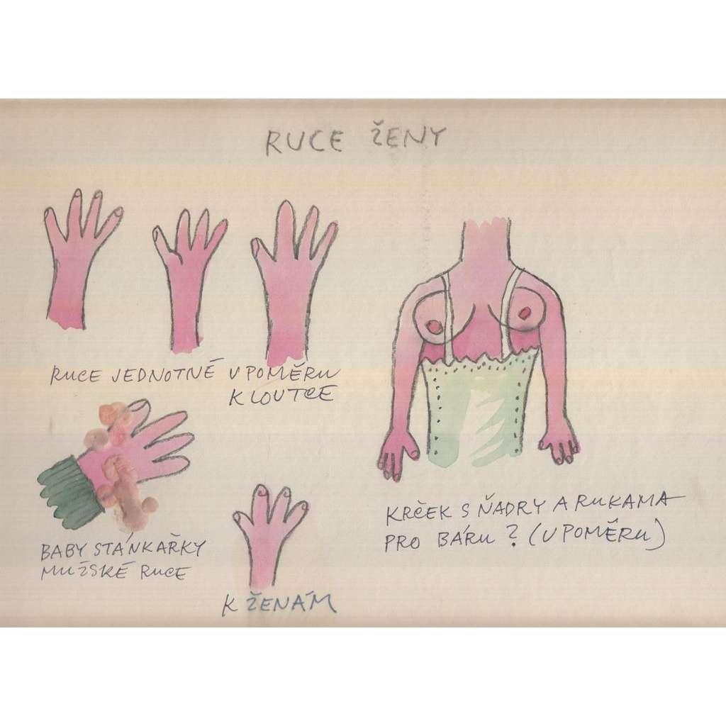 Ruce ženy (pošk.)