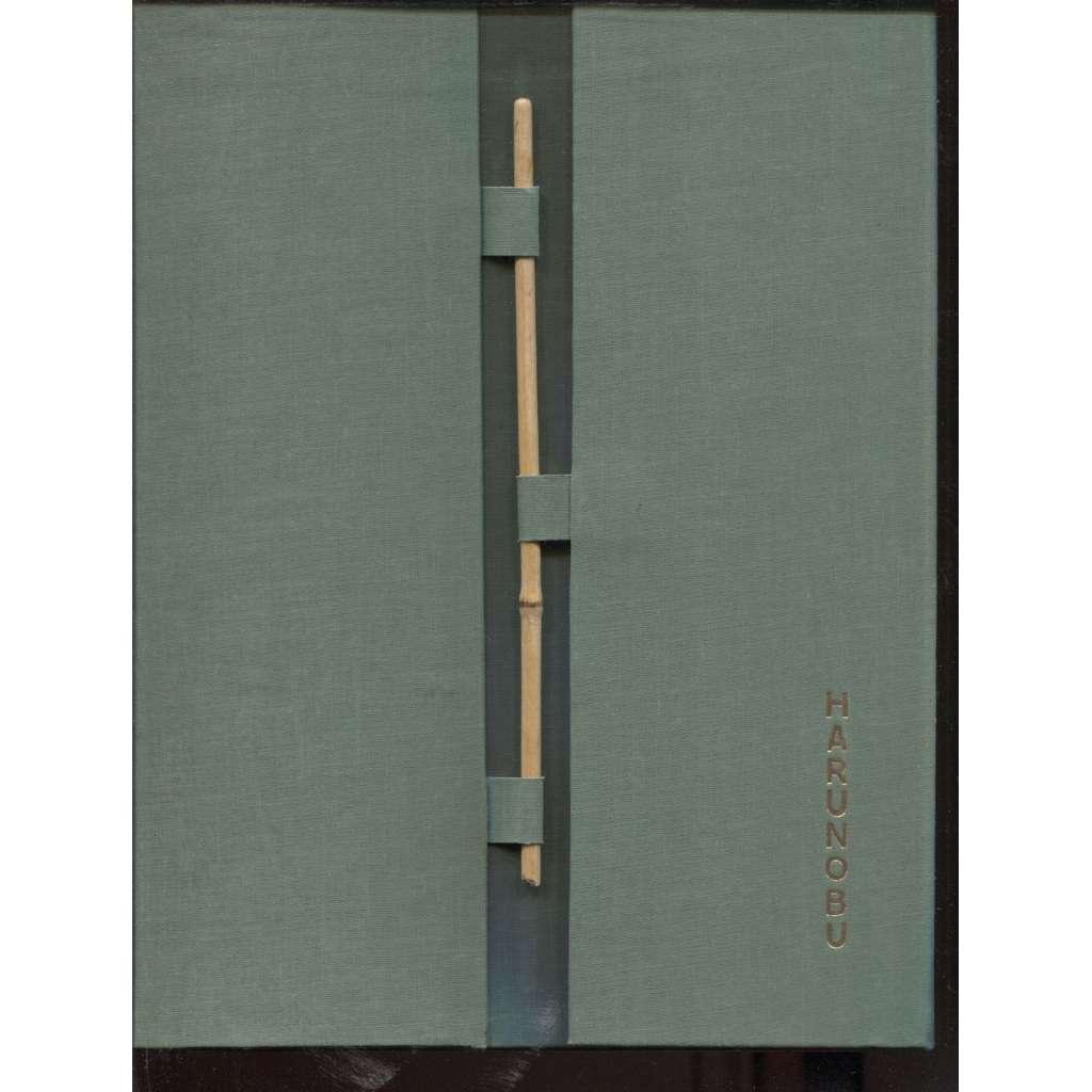 Harunobu und die Küsnstelr Seiner Zeit
