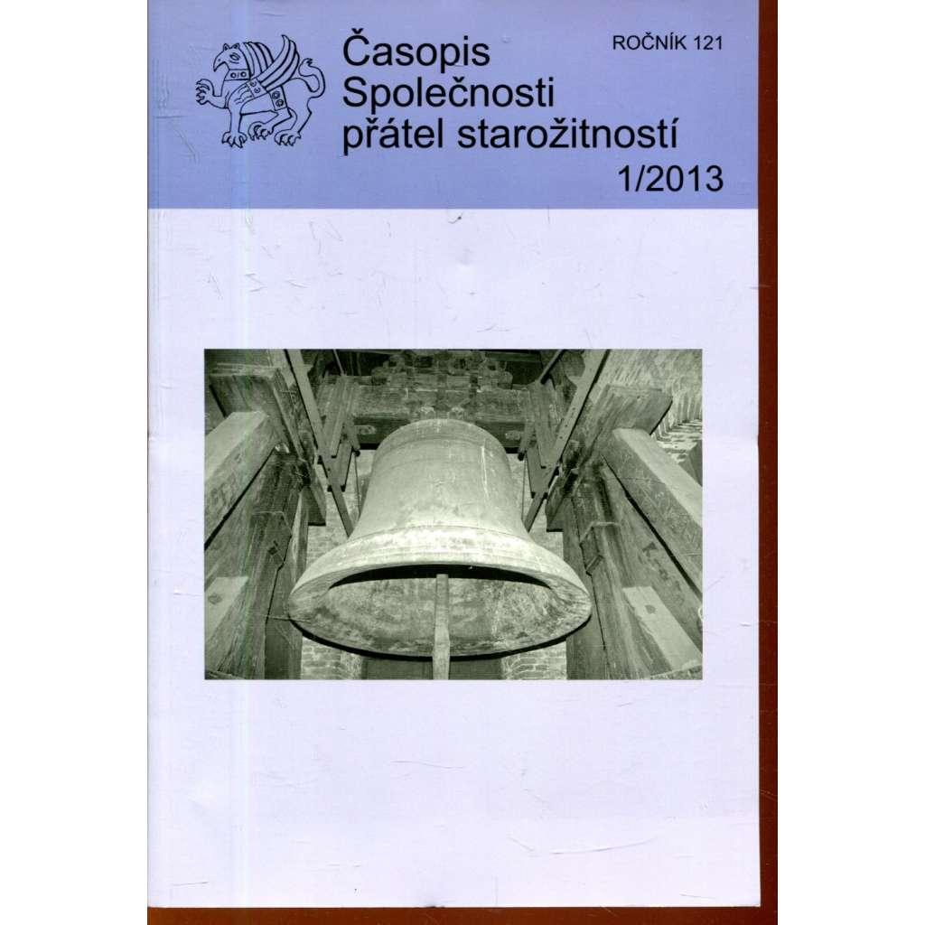 Časopis Společnosti přátel starožitností 1/2013, roč. 121