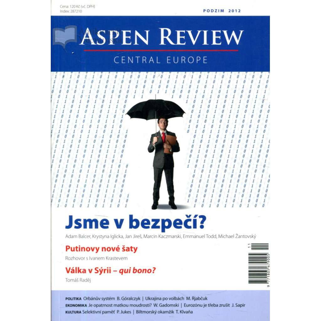 Aspen Review - podzim 2012. Central Europe