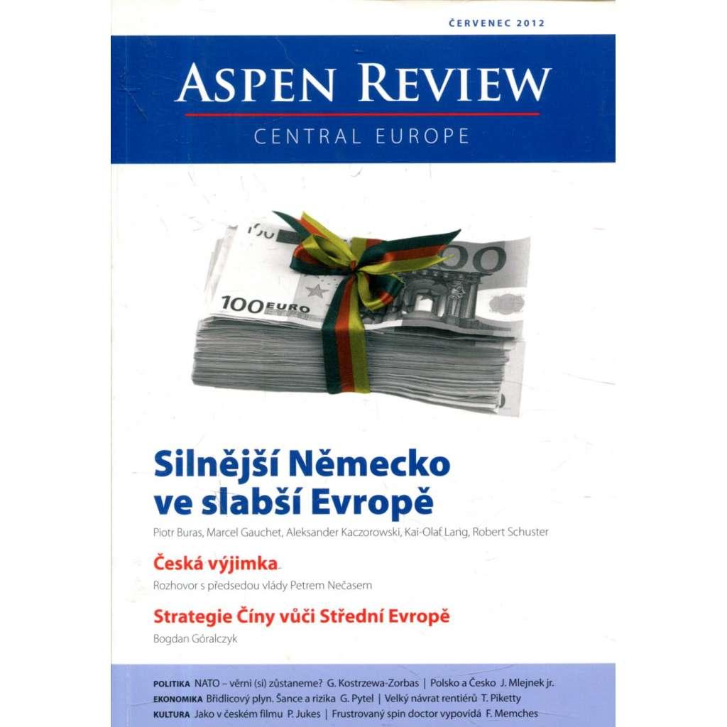 Aspen Review - červenec 2012. Central Europe