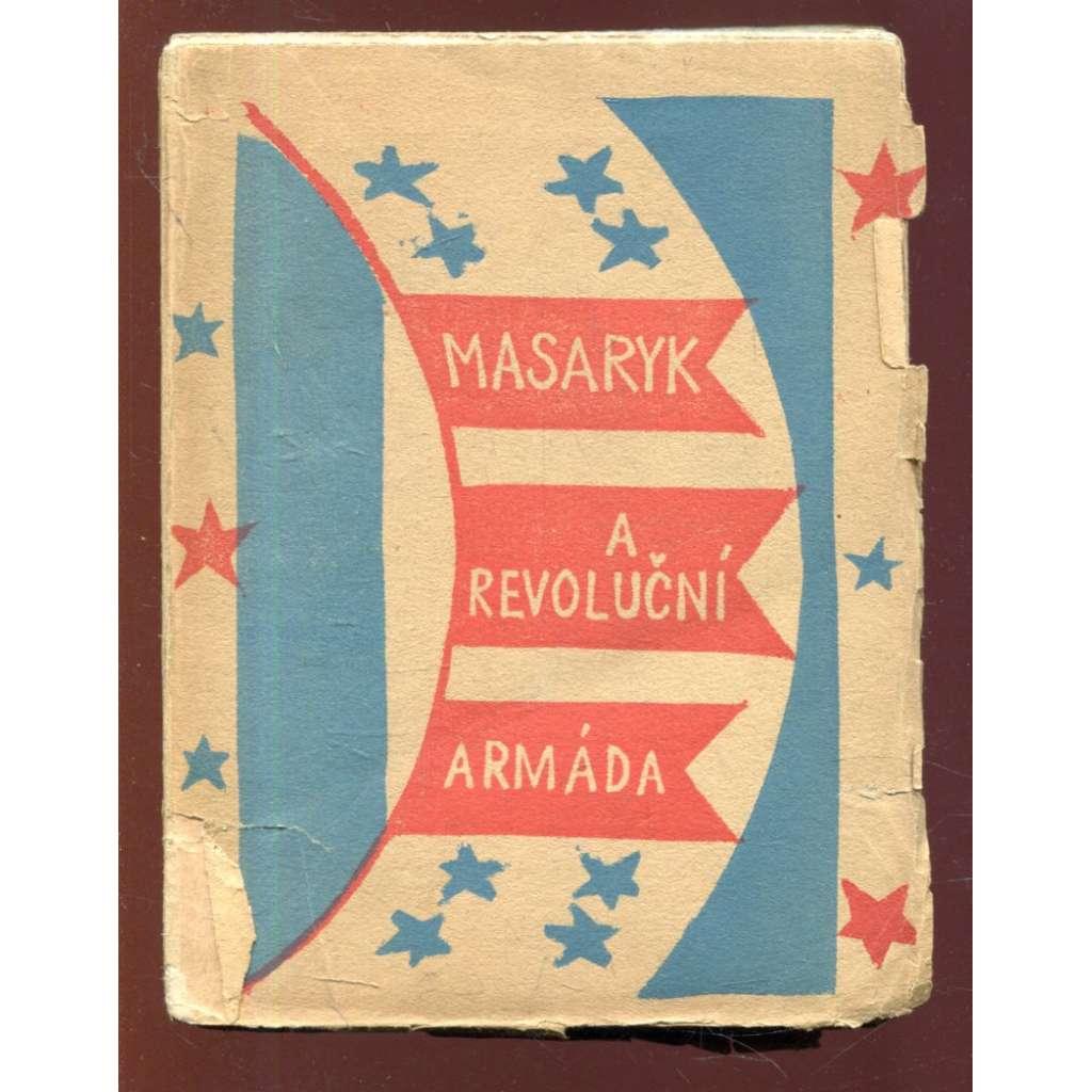 Masaryk a revoluční armáda - obálka Josef Čapek