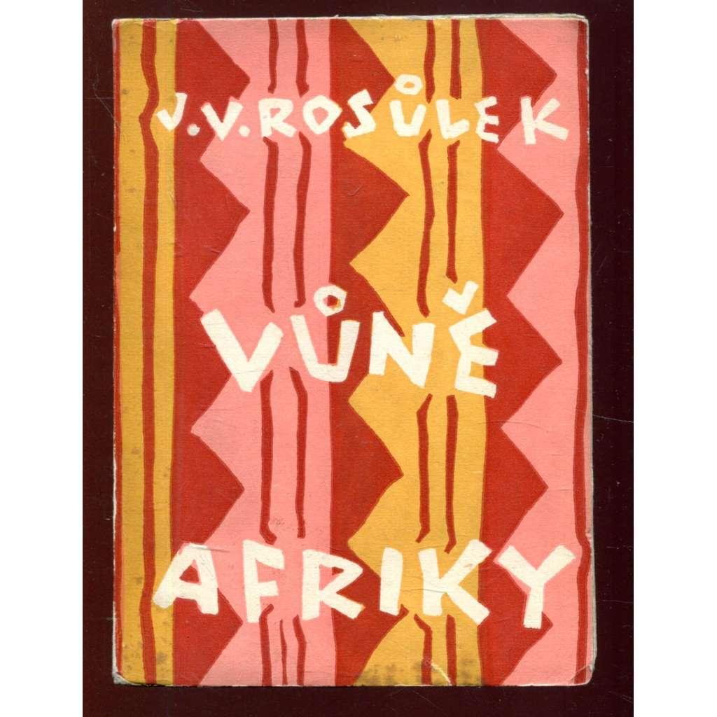 Vůně Afriky - obálka Josef Čapek