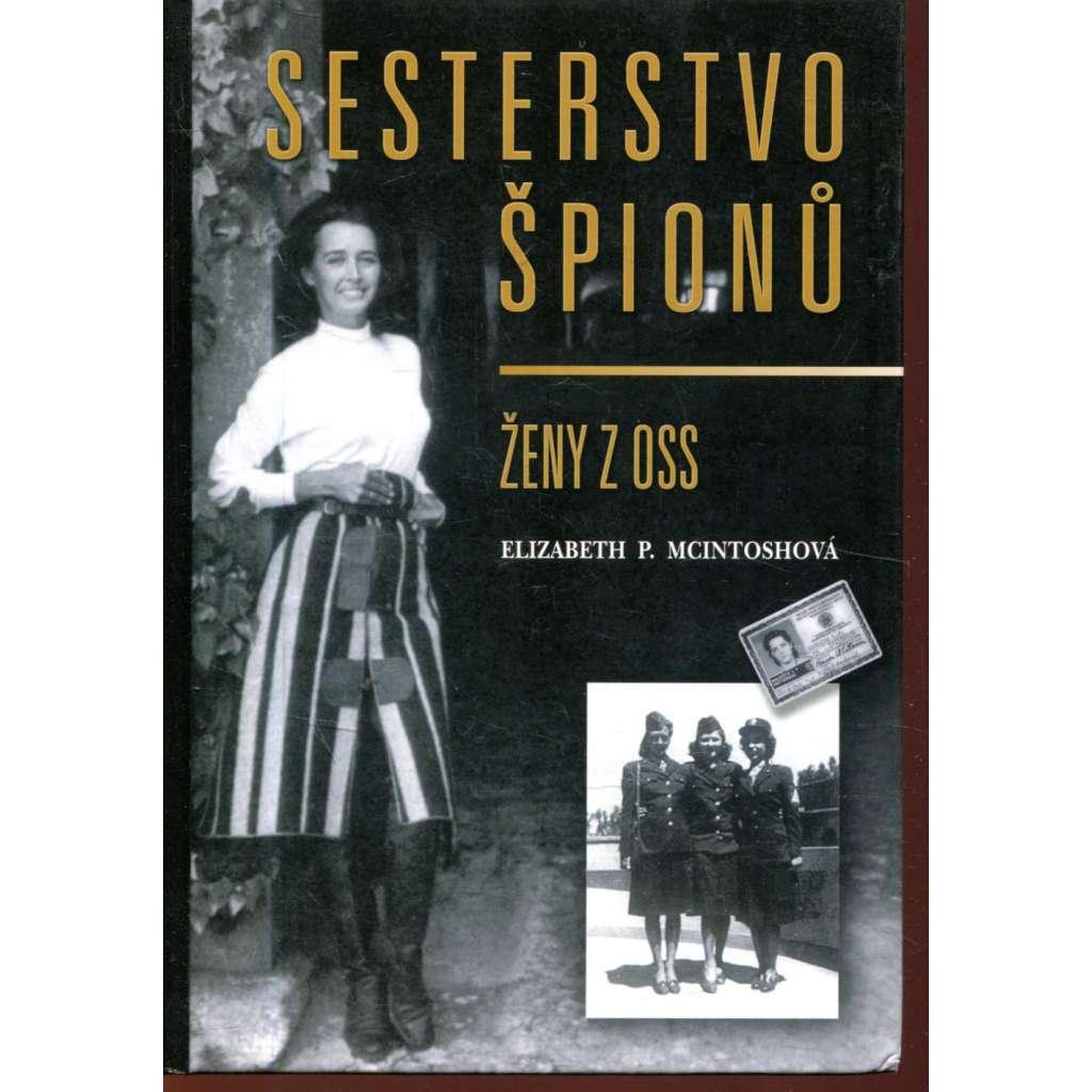 Sesterstvo špionů. Ženy z OSS (tajná služba USA)