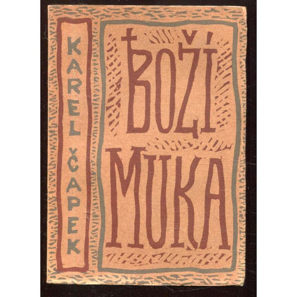 Boží muka (obálka Josef Čapek) 1924