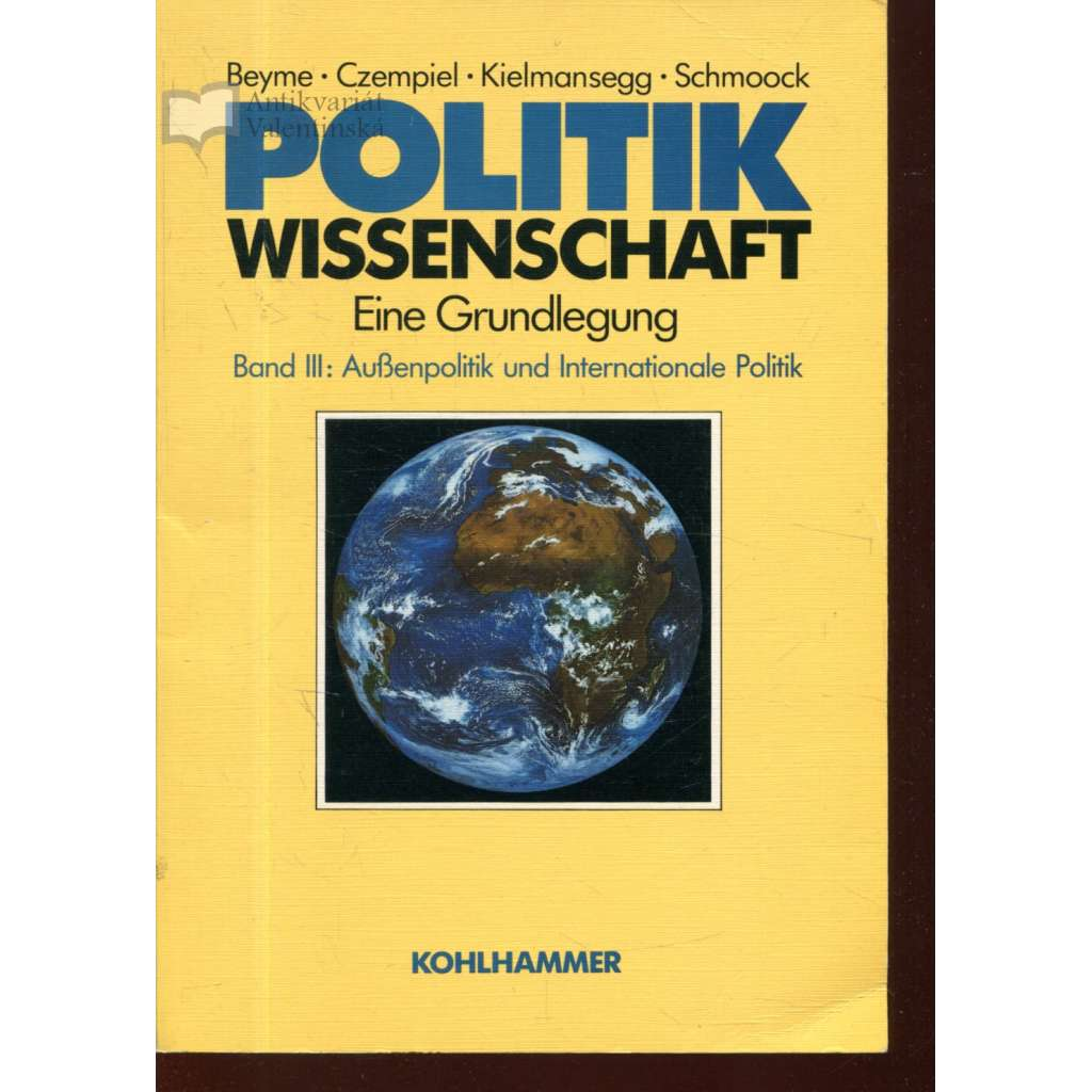 Politikwissenschaft. Eine Grundlegung