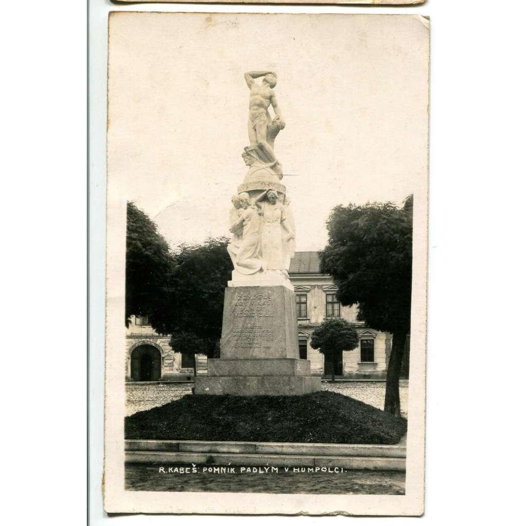 Humpolec, Pelhřimov, pomník padlým