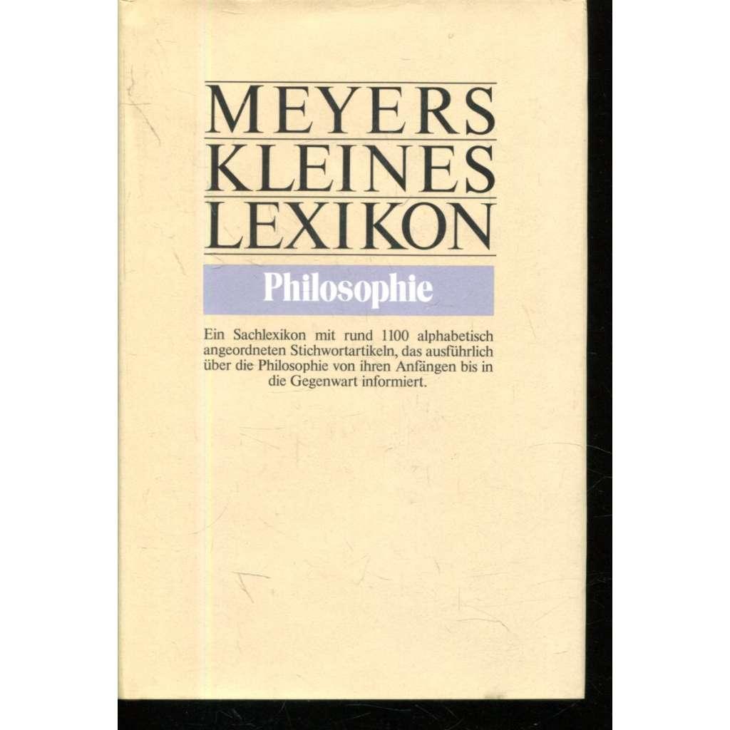 Meyers Kleines Lexikon Philosophie