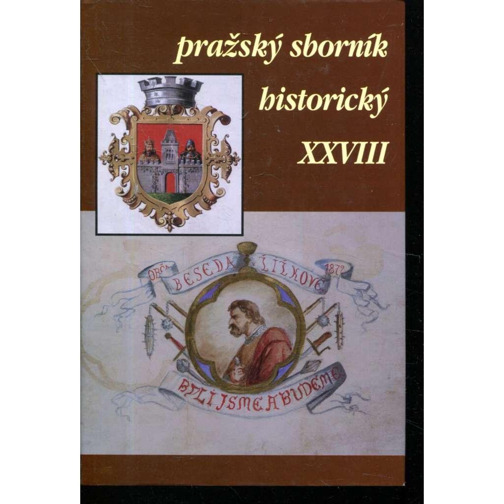 Pražský sborník historický XXVIII.