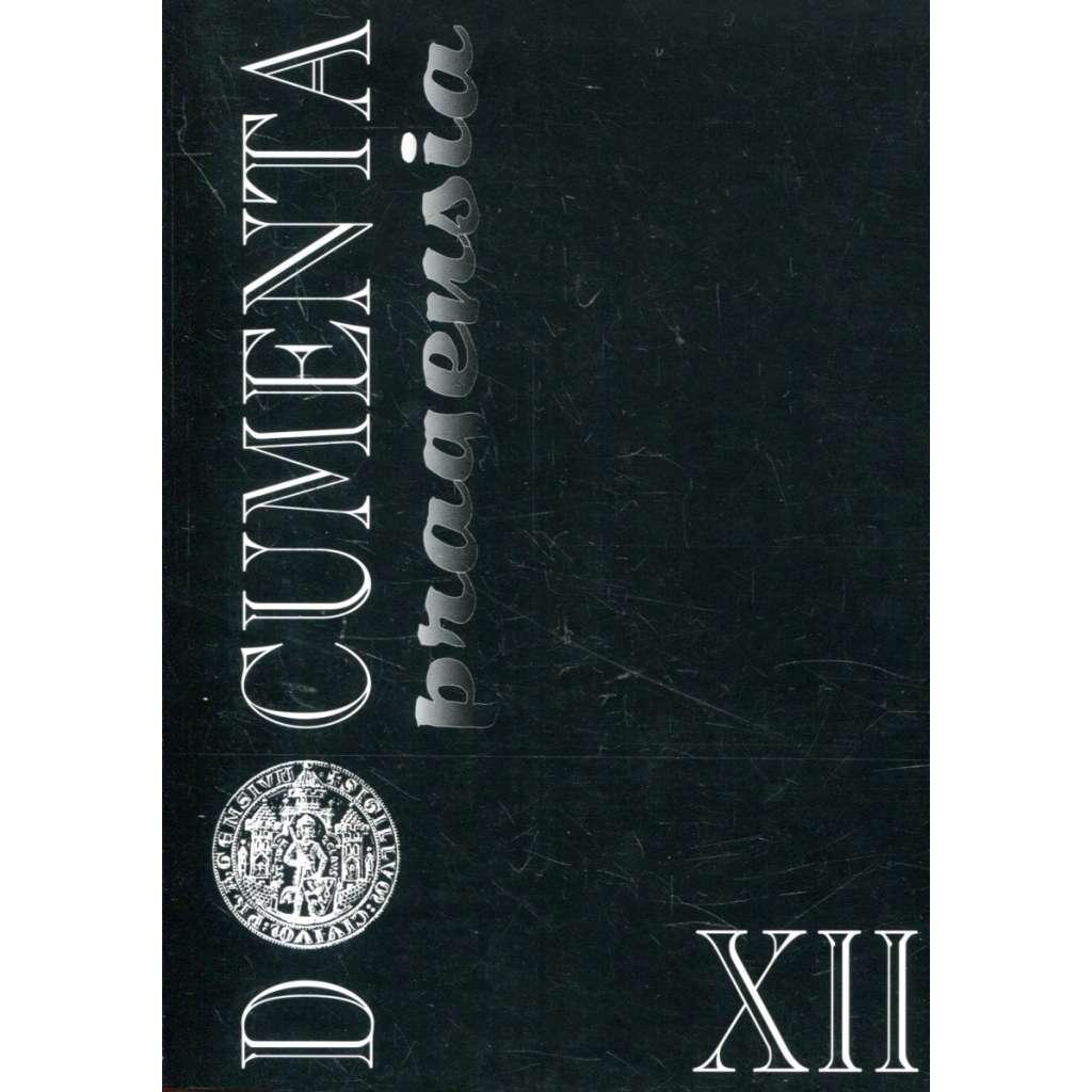 Documenta pragensia XII