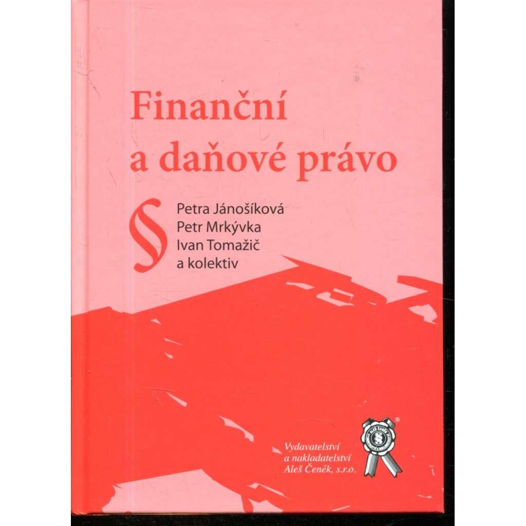 Finanční a daňové právo