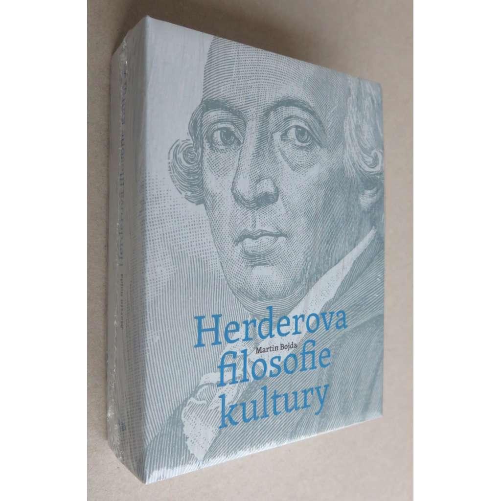 Herderova filosofie kultury : Herder a německé osvícenství