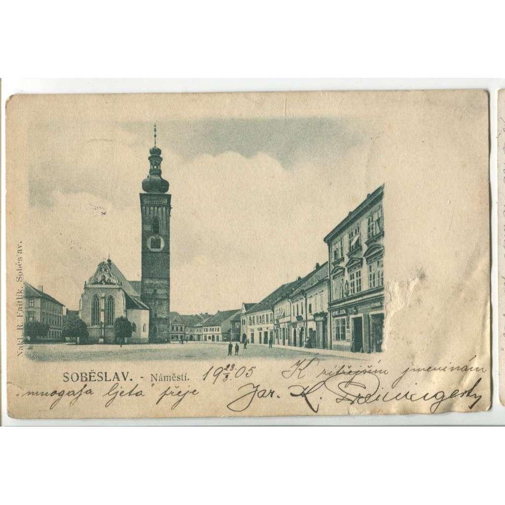 Soběslav, Tábor, (pošk.)