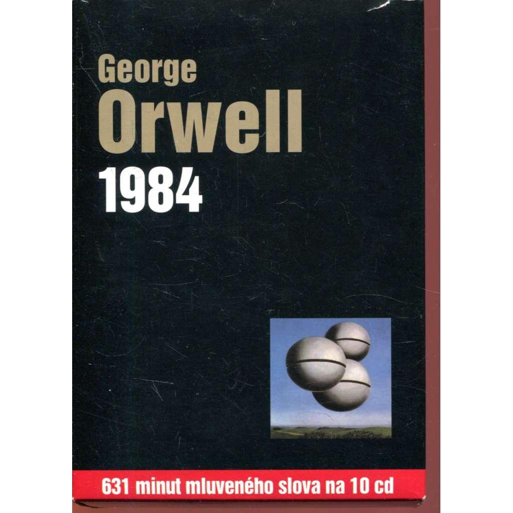 1984 (631 minut mluveného slova na 10 CD)