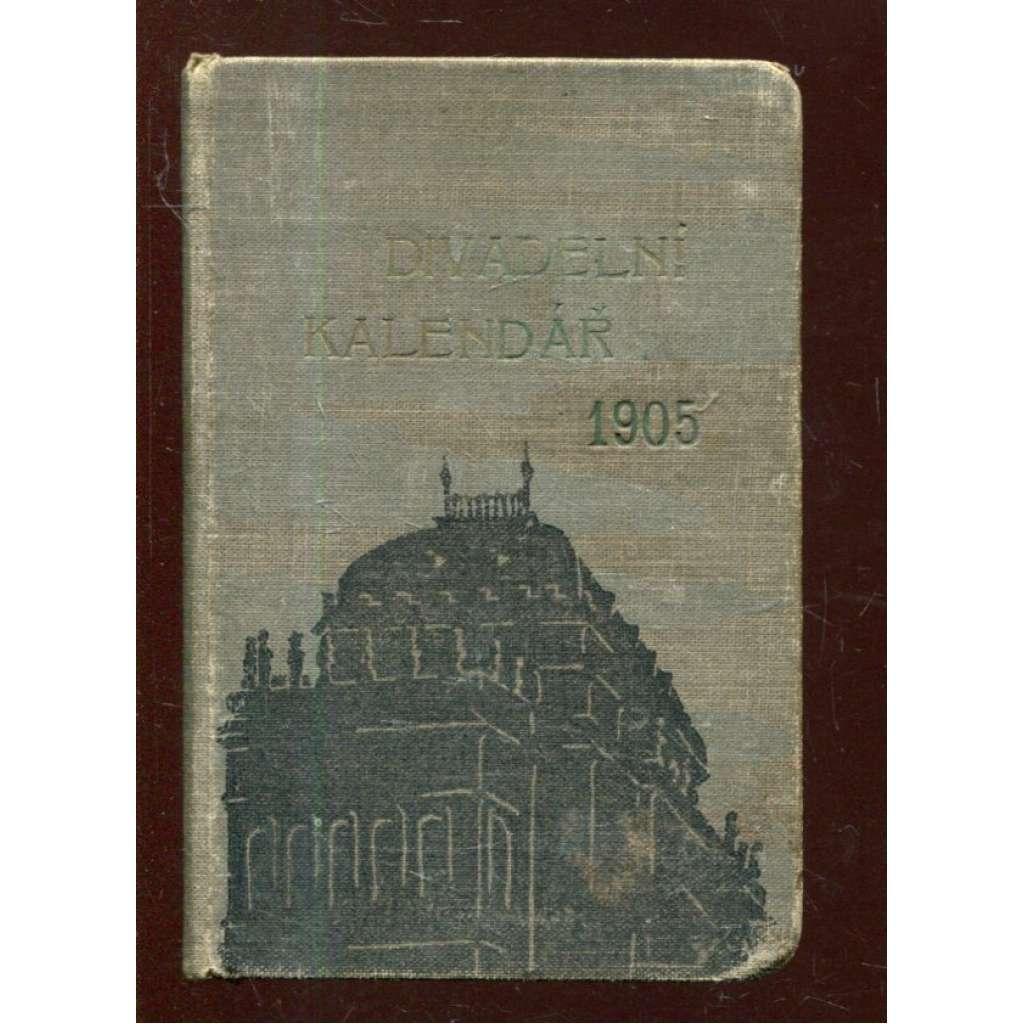 Divadelní kalendář 1905, ročník XXIV.