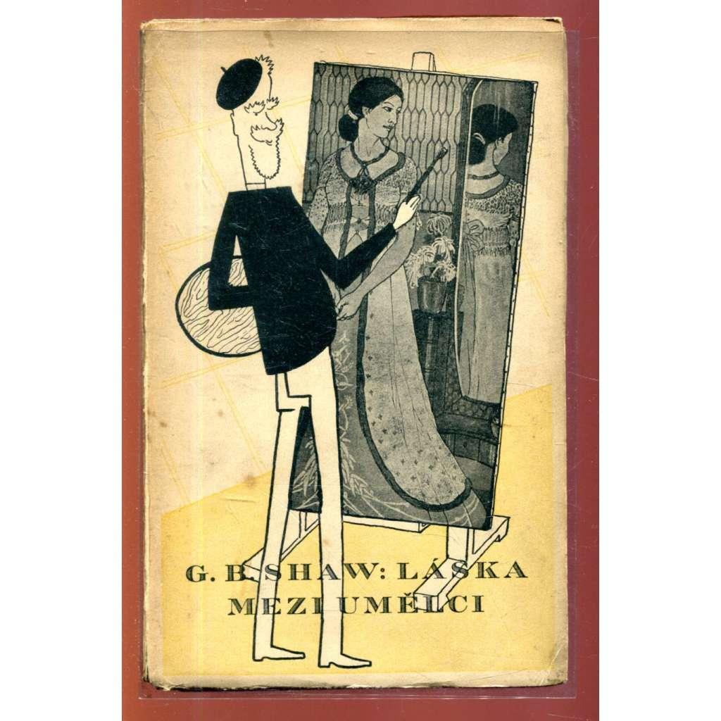Láska mezi umělci (obálka Adolf Hoffmeister)
