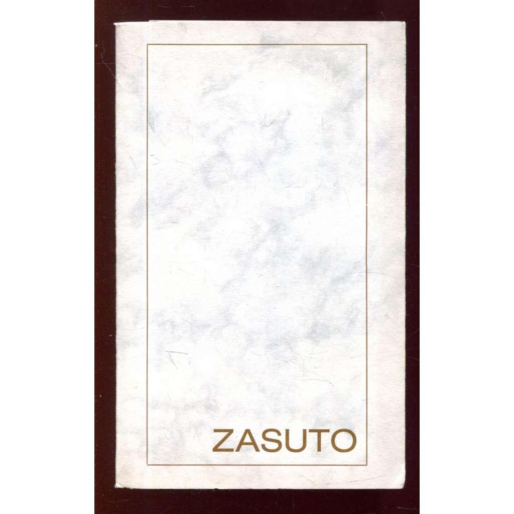 Zasuto (exilové vydání)