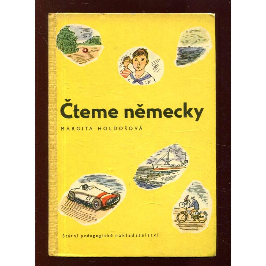 Čteme německy (ilustrace a obálka Kamil Lhoták)