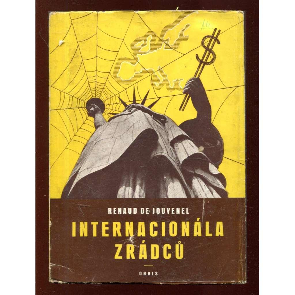 Internacionála zrádců (obálka Zdeněk Rossmann)