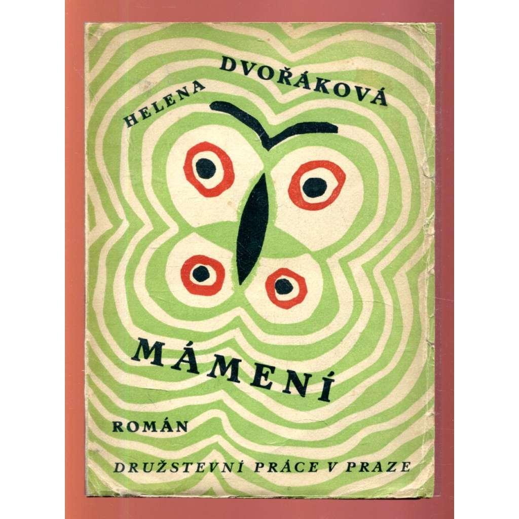 Mámení (obálka Josef Čapek)