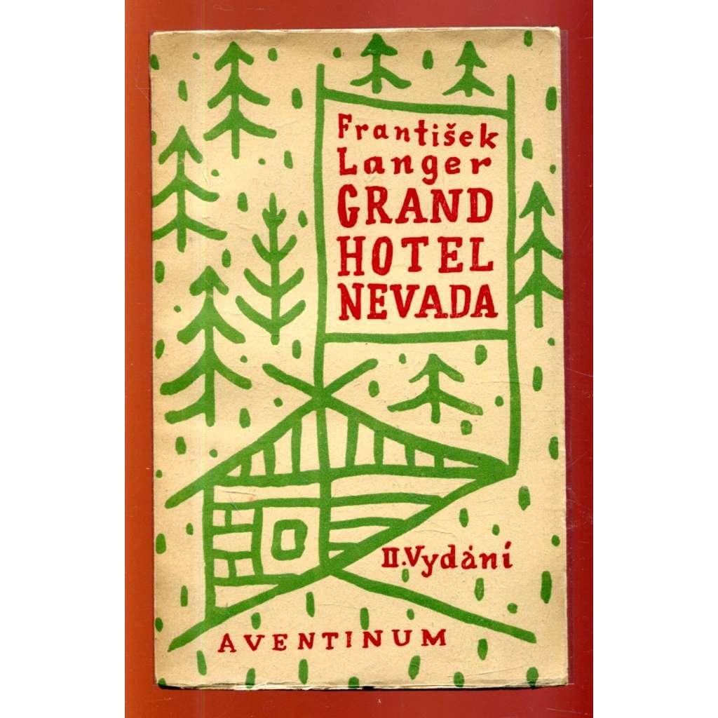 Grand hotel Nevada (obálka Josef Čapek)