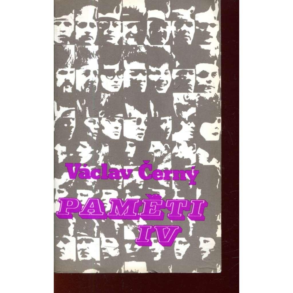 Paměti IV. (Sixty-Eight Publishers)