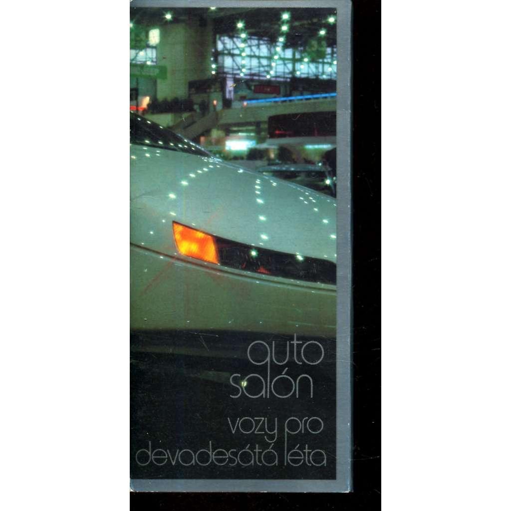 Autosalón - vozy pro devadesátá léta
