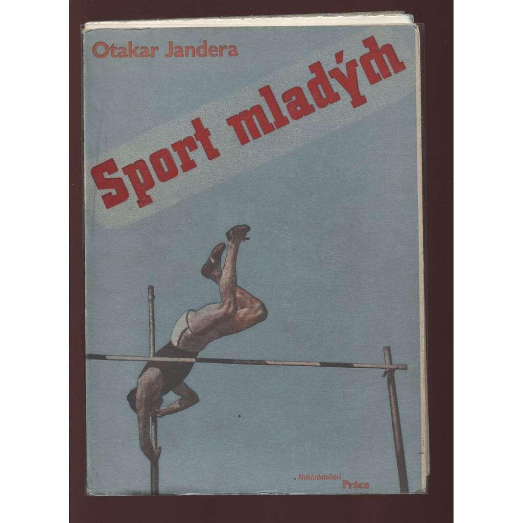 Sport mladých (obálka Karel Teige)