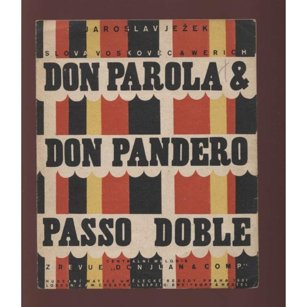 Don Parola & Don Pandero (Osvobozené divadlo)