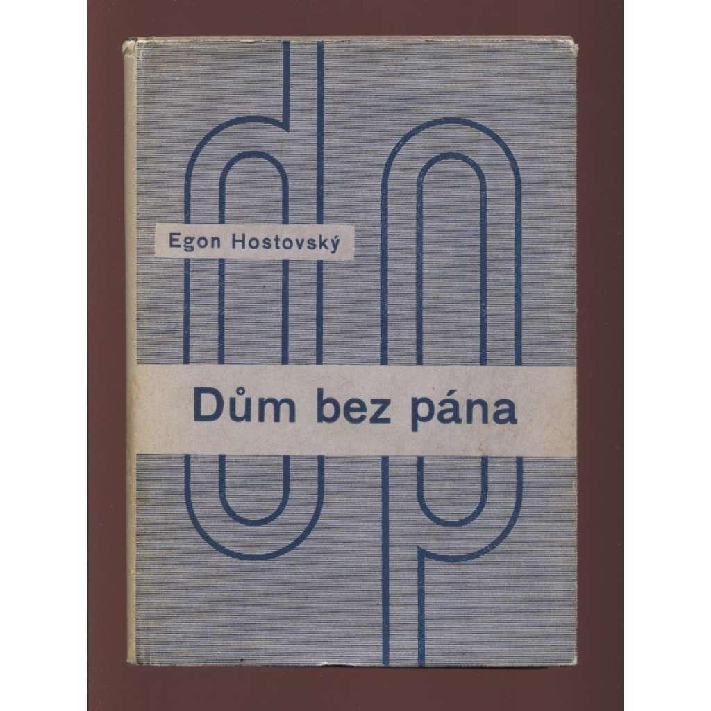 Dům bez pána (obálka Ladislav Sutnar)