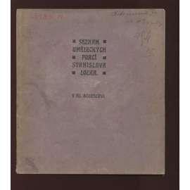 Seznam uměleckých prací Stanislava Lolka