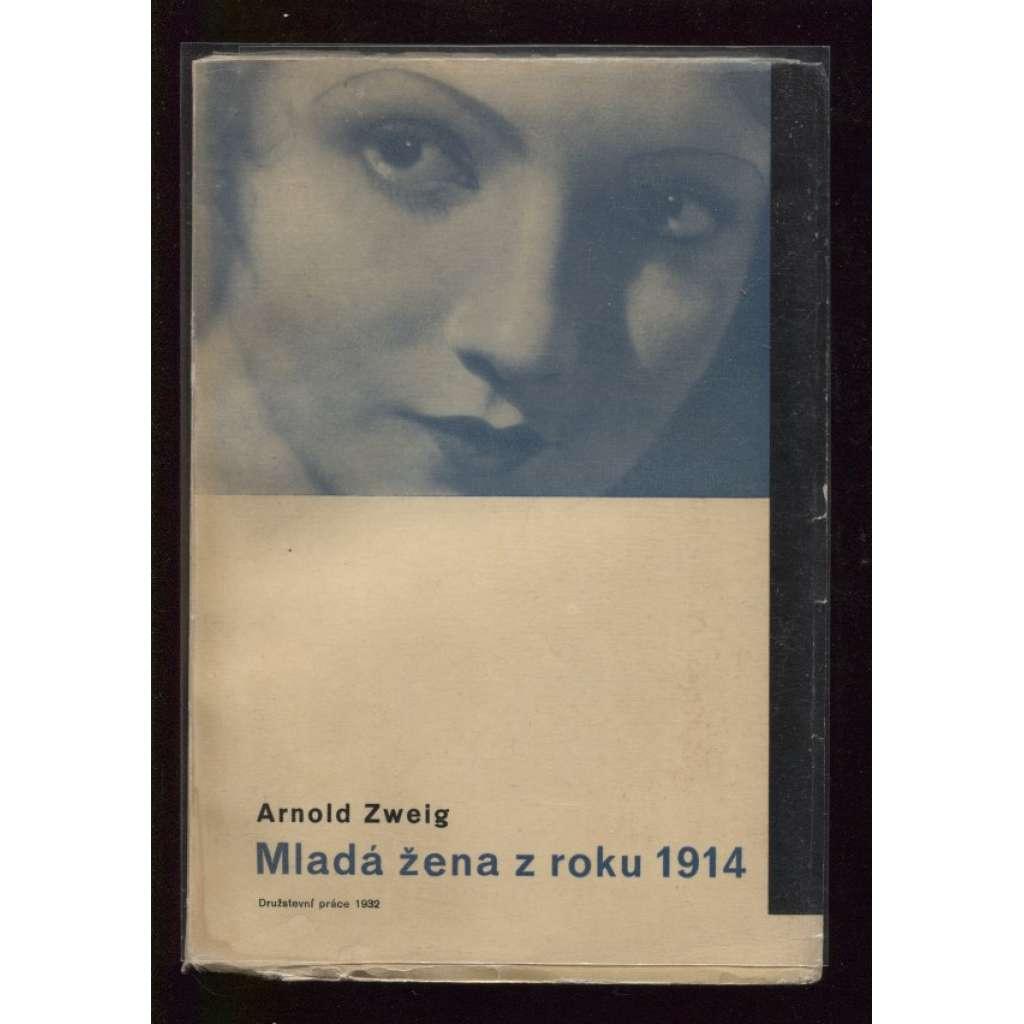 Mladá žena z roku 1914 (obálka Ladislav Sutnar)