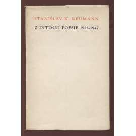 Z intimní poesie 1925-1947 (litografie Čeněk Pražák)