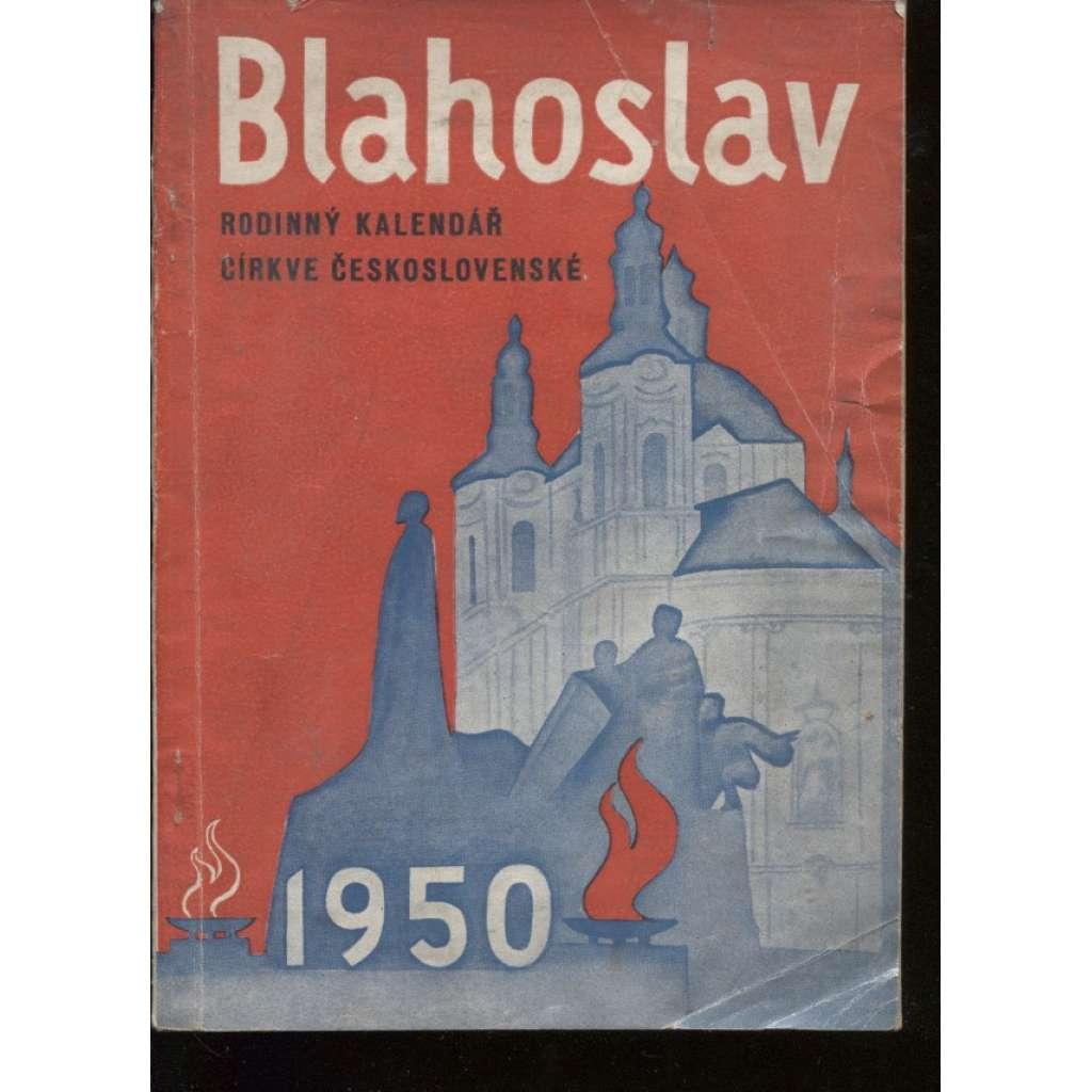 Blahoslav. Rodinný kalendář církve československé 1950