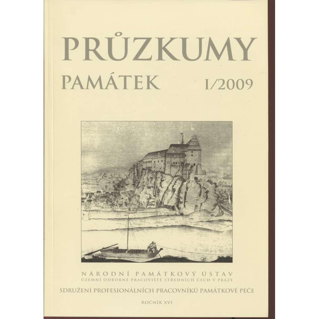 Průzkumy památek, roč. XVI. I/2009