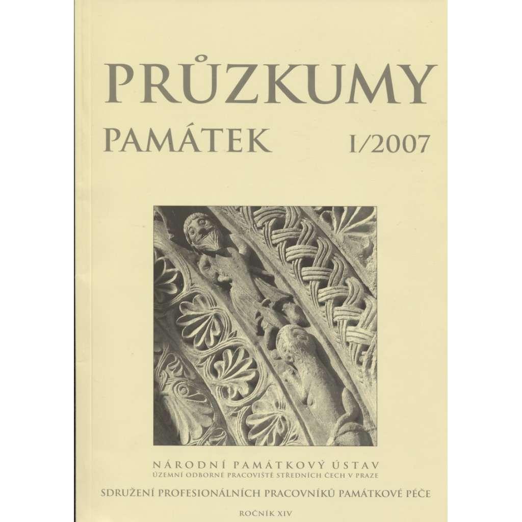 Průzkumy památek, roč. XIV. I/2007