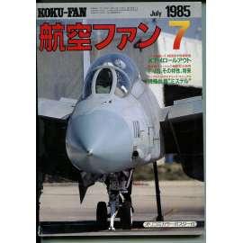 The Koku-Fan 7/1985, Vol. 34, No. 7 (letectví, letadla)